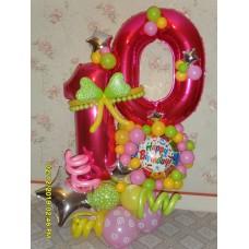 Украшение дня рождения 10 лет