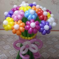 Букет из шаров 21 ромашка