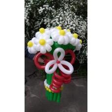 Букет из шаров белые ромашки