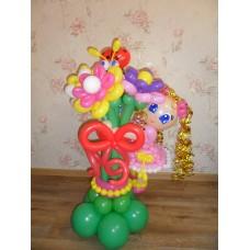 Букет из шаров для Девочки