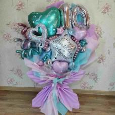 Букет из шаров для доченьки