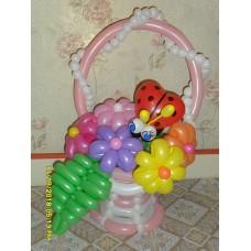 Букет из шаров Доченьке