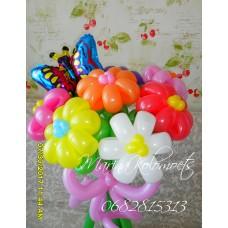 Букет из шаров Фольгированная Бабочка