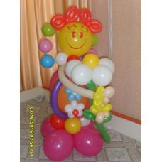Букет из шаров Клоун