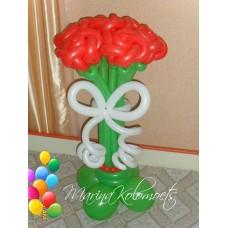 Букет из шаров Красные Розы