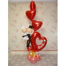 Букет из шаров на годовщину свадьбы