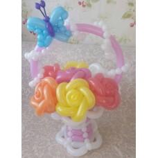 Букет из шаров Нежные Розы