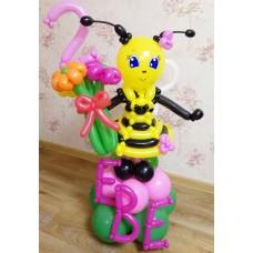 Букет из шаров Пчела