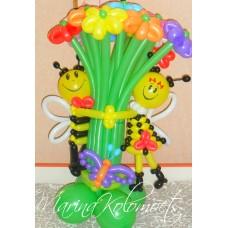 Букет из шаров Пчелки