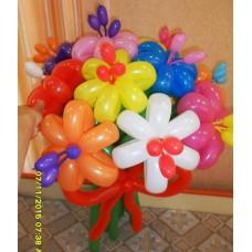Букет из шаров с Тычинками