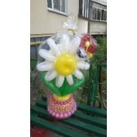 Букет из шаров Цветочек с Букашкой