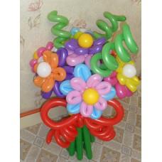 Букет из шаров Яркие краски