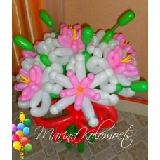 Лилии из шаров