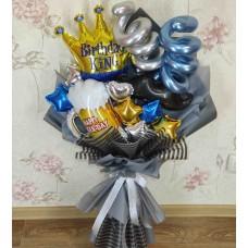 Крафтовый букет шаров для мужа
