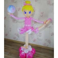 Балерина из шаров
