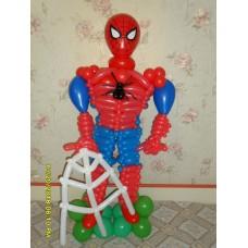 Человек паук из шаров.