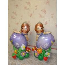 Фольгированные шарики Принцесса