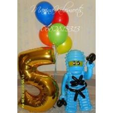 Герой Лего Ниндзяго Джей из шаров