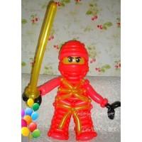 Герой Лего Ниндзяго Кай из шаров