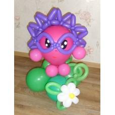 Игрушка Ежик из шаров
