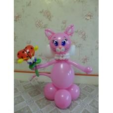 Игрушка Кошечка из шариков