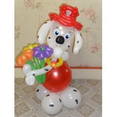 Игрушка Маршал из воздушных шаров