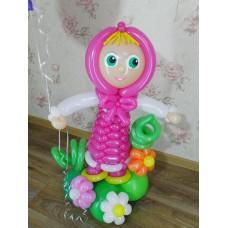 Игрушка Маша из шариков