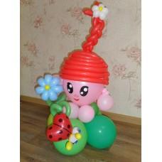 Игрушка Нюша из шаров