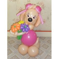 Игрушка Скай из воздушных шаров