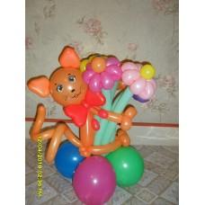 Кошка из шаров