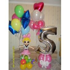 Кукла Лол из шаров