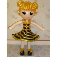 Кукла лол из воздушных шариков