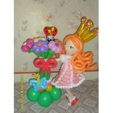 Куколка из шаров