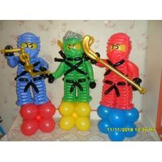 Лего Ниндзяго  из шаров