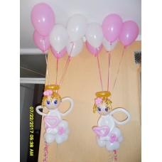 Летающие Ангелочки из шаров