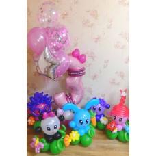 Малышарики из шариков