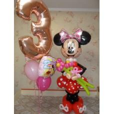 Mickey Mouse из шаров