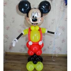 Микки Маус из шаров для мальчика
