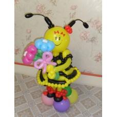Пчелка Майя из шаров