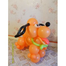 Песик из воздушных шаров