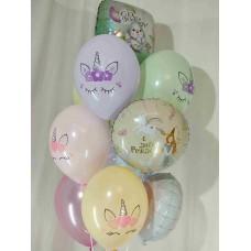 Букет гелиевых шаров Девочке