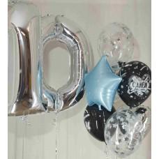 Гелиевые шарики 10 лет
