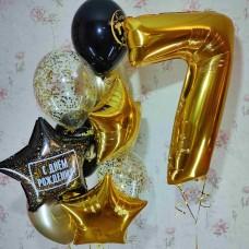 Гелиевые шарики 7 лет