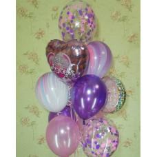 Гелиевые шарики Агаты Princess