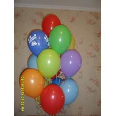Гелиевые шарики большой фонтан
