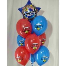 Гелиевые шарики Бравл Старс 2