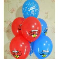 Гелиевые шарики Бравл Старс