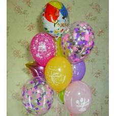 Гелиевые шарики День Рождение
