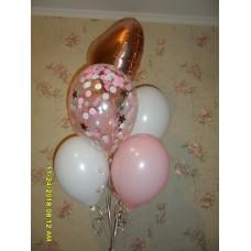Гелиевые шарики Девочке