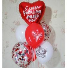Гелиевые шарики Девушке